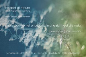 "Vernissage ""The Spirit of Nature"" @ Zimmer 16"