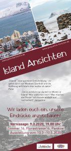 Flyer Island-Ansichten